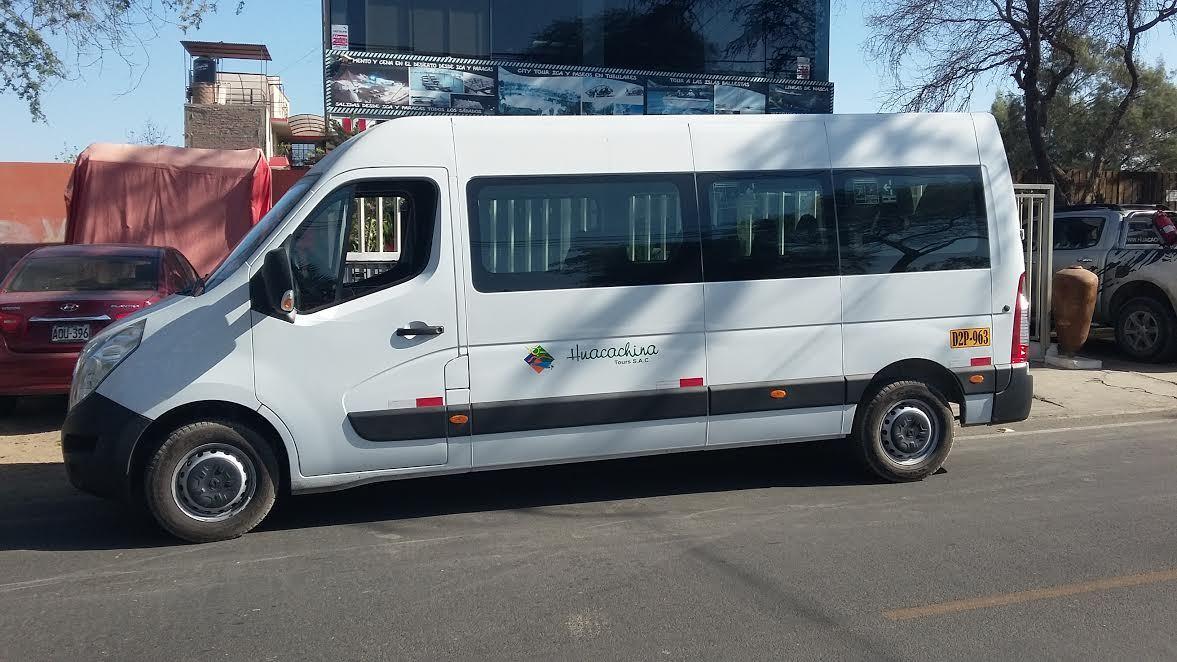 Paracas Bus Terminal Departure Transfer