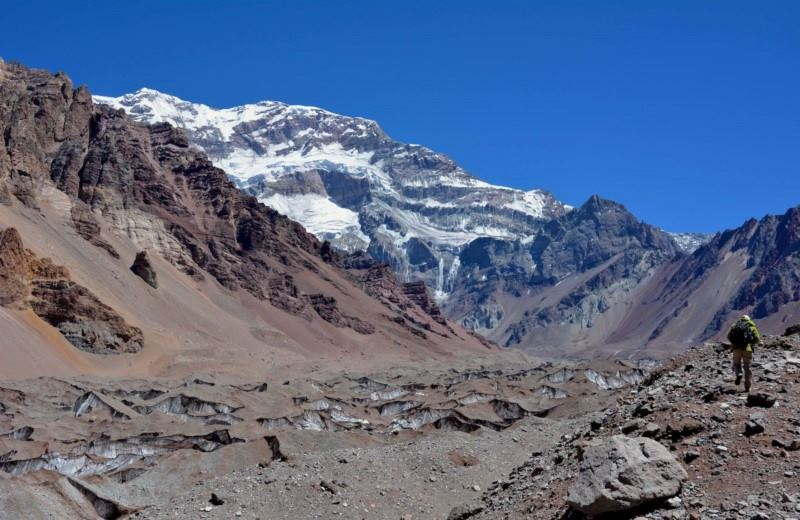 Trekking A Plaza Francia (Aconcagua)