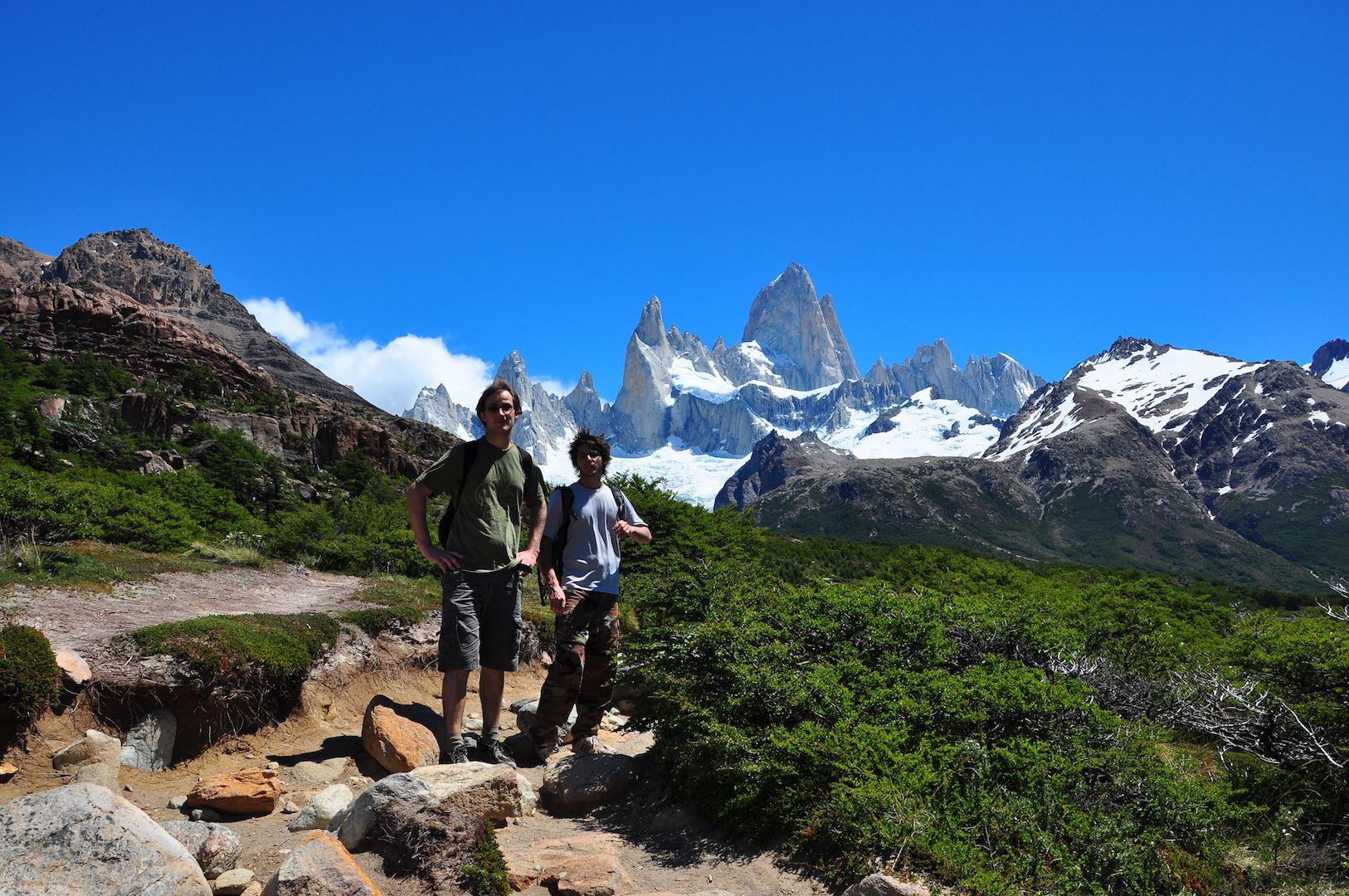Adventure Trekking at El Chalten from El Calafate