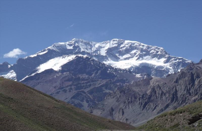 Trekking In The Provincial Park Aconcagua