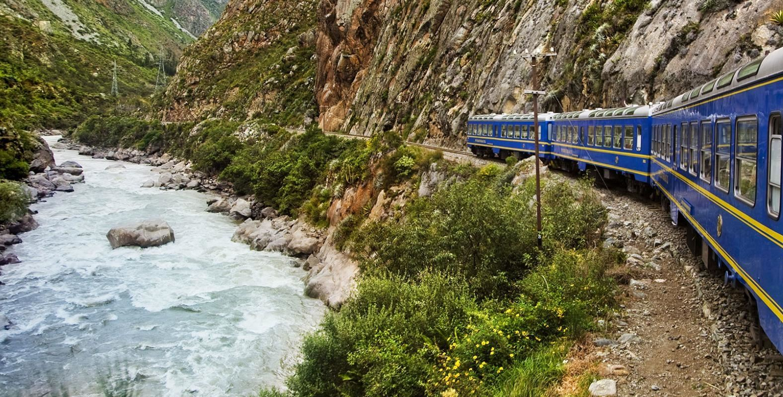 Machu Picchu Luxury Tour - Train Hiram Bingham