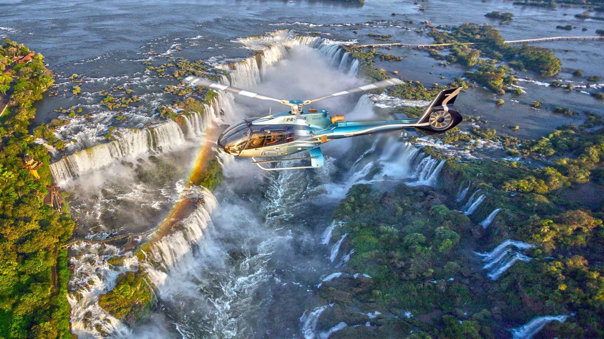 Vuelo en helicóptero sobre las Cataratas del Iguazu