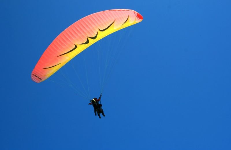 Flight Of Baptism Parapente