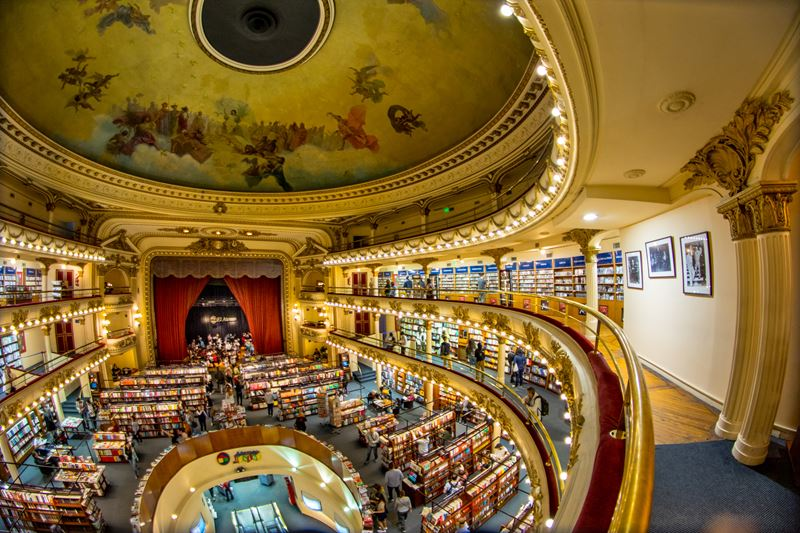 Five Bookstores You Can't Miss In Buenos Aires