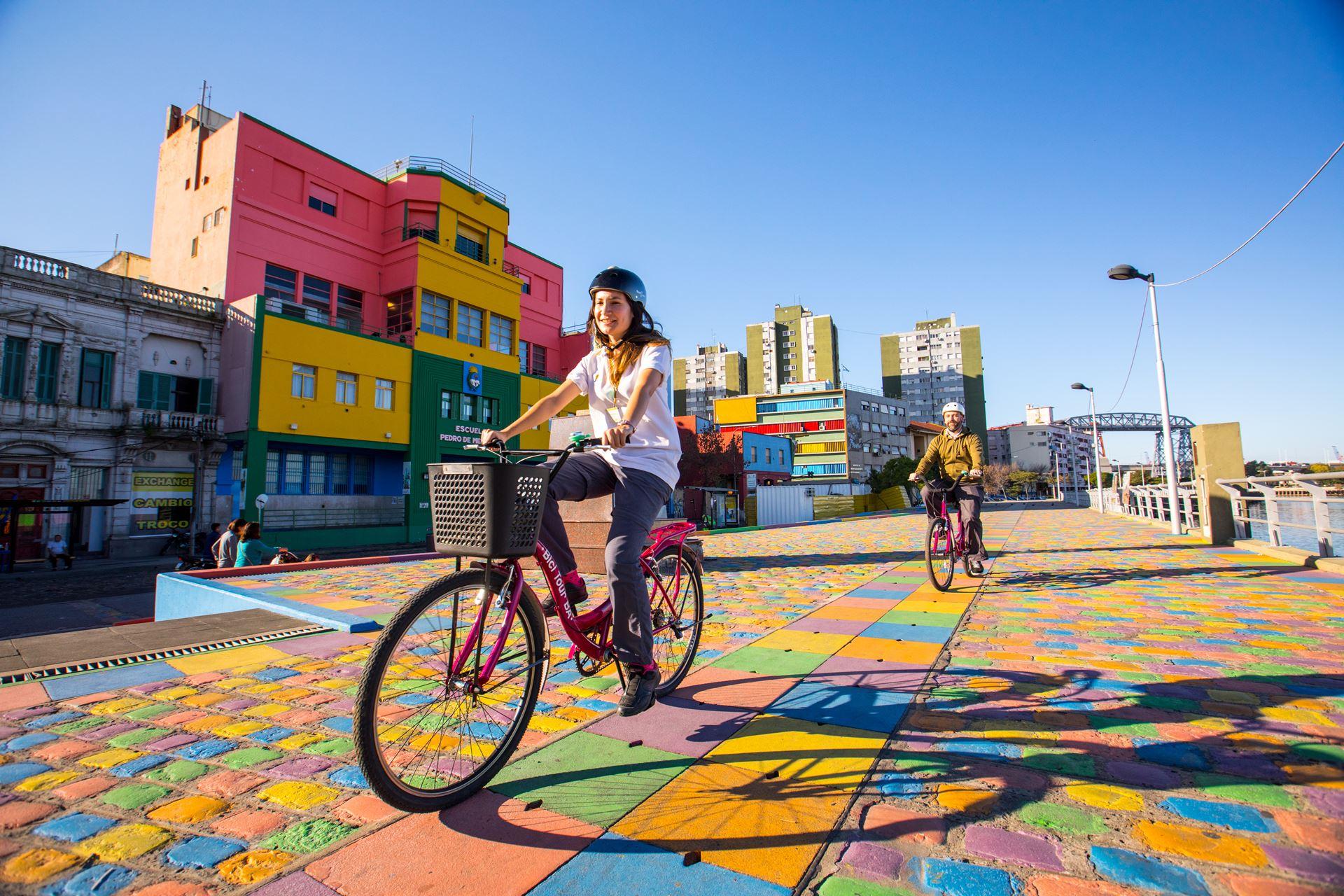 Circuítos top de calles con ciclovías en Buenos Aires