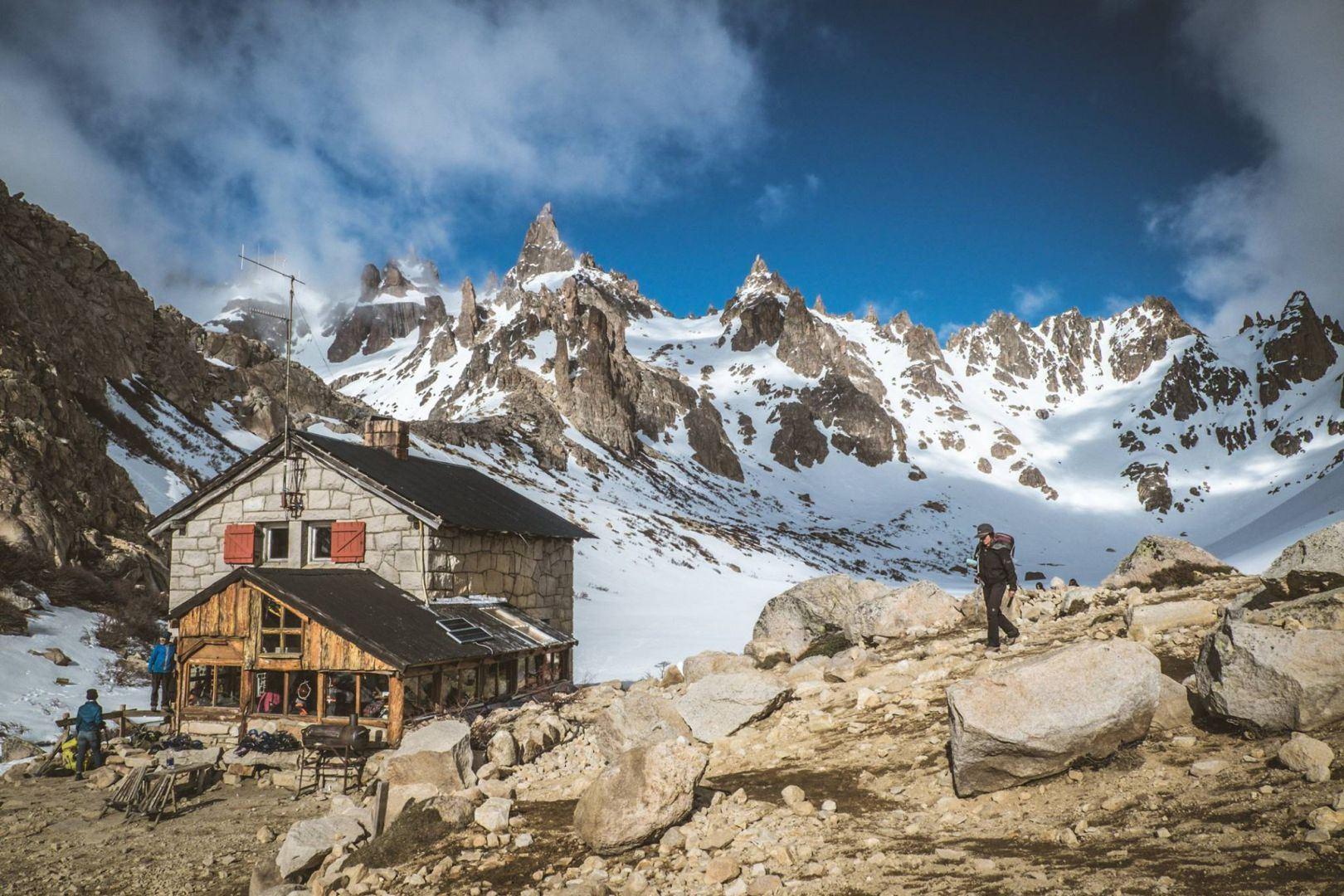 Em que cabanas de montanha para dormir em Bariloche