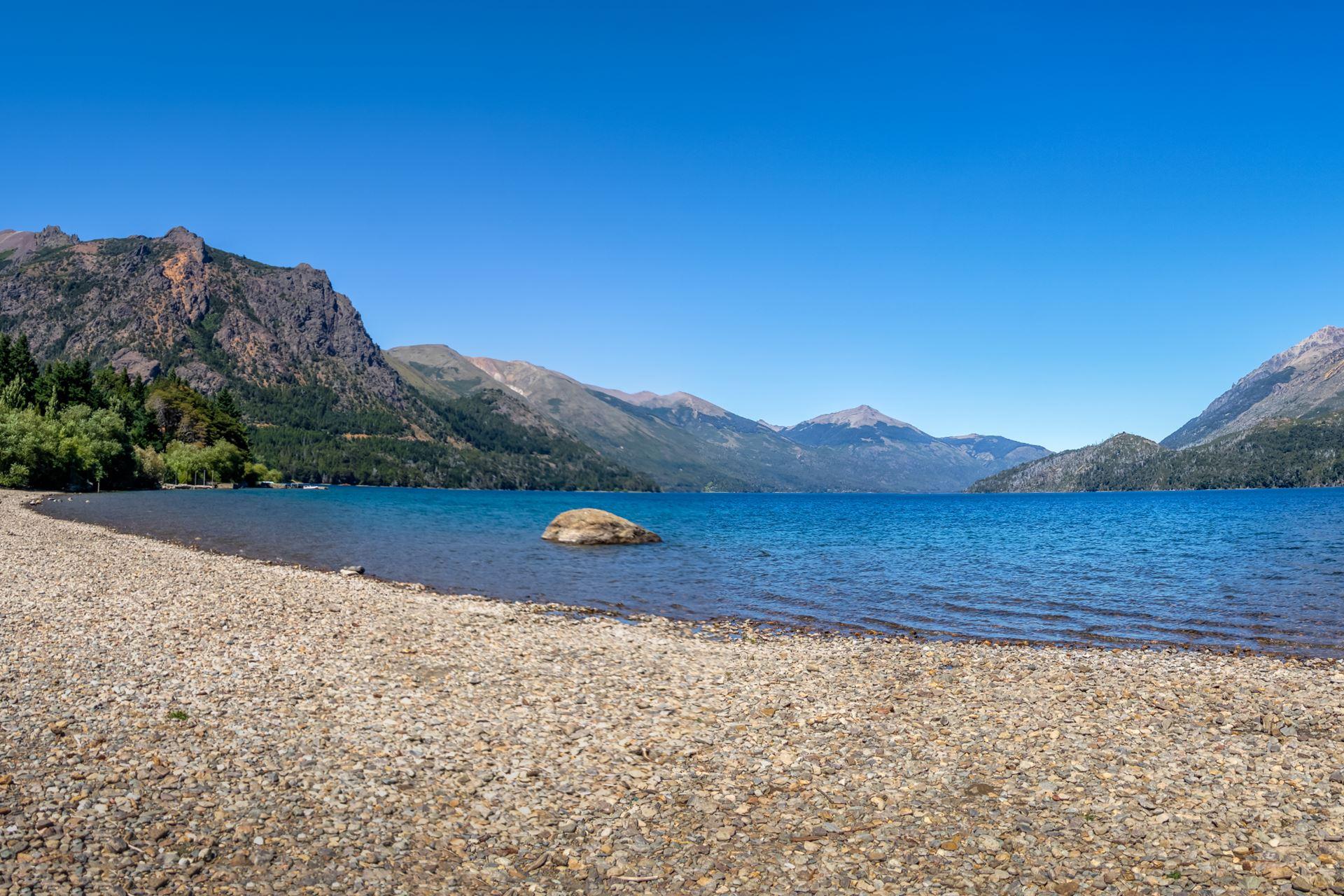 As melhores praias de Bariloche