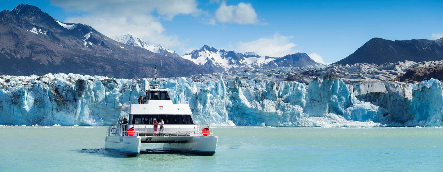 Que passeio de barco escolher no Glaciar Perito Moreno?