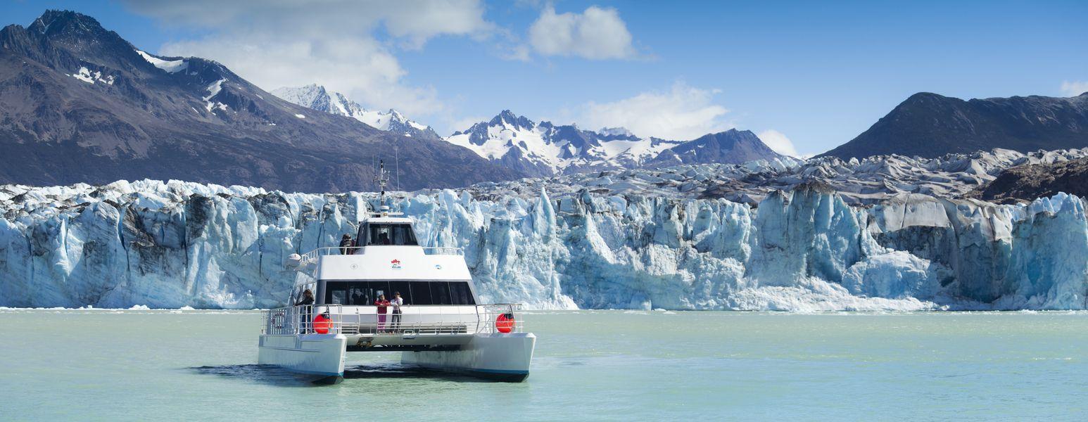 What boat trip choose on the Perito Moreno Glacier?