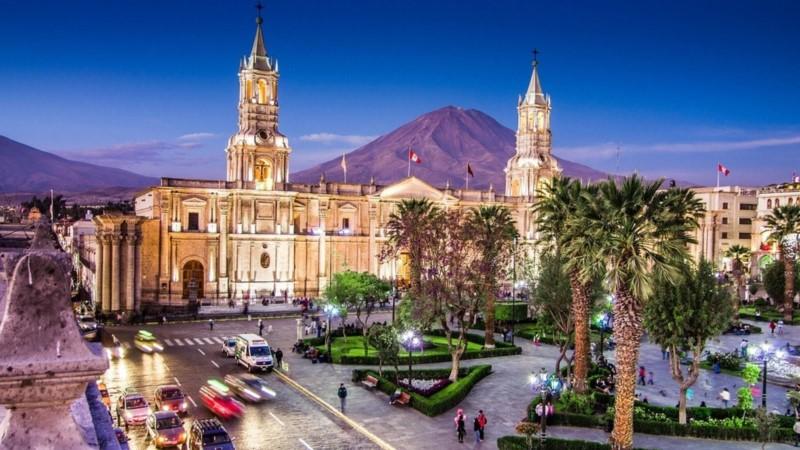 Arequipa, The White City On Peru