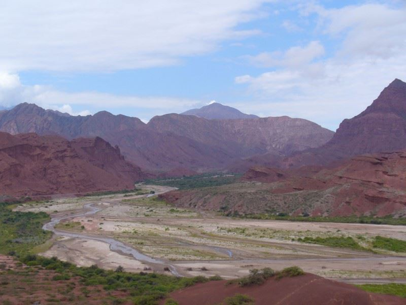 Cafayate And Its Quebradas