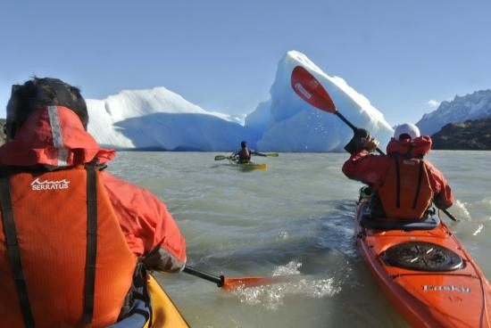 Kayaking In Puerto Natales