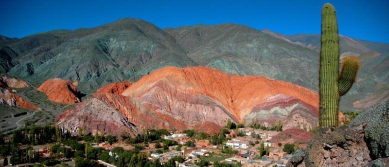 La Quebrada De Humahuaca: A Watercolor Landscape