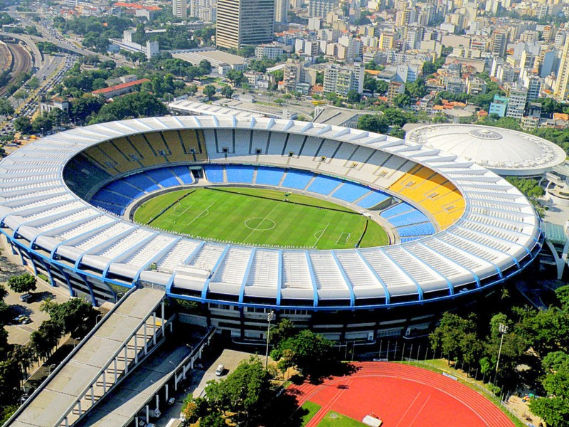 Maracaná Stadium In The City Of Rio De Janeiro. You Will Love It!