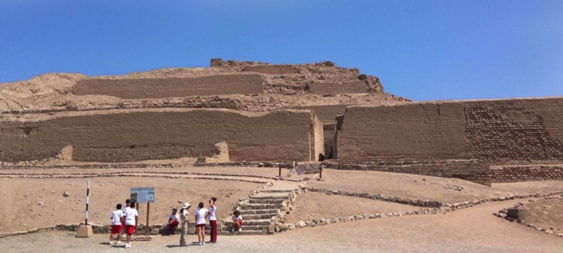 """Pachacamac """"Soul Of Earth, The One That Animates The World"""". Lima, Peru."""