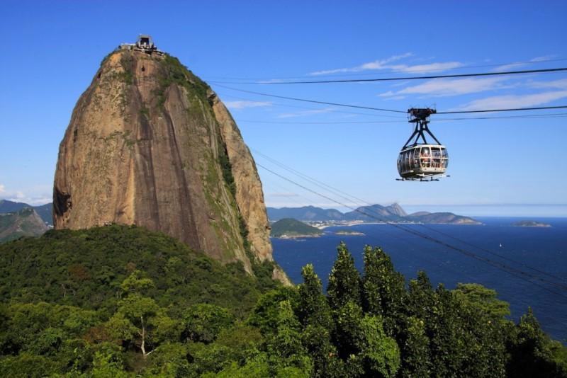 Pão De Açúcar And Cristo Do Corcovado, Sweet Satisfaction Feelings In Rio De Janeiro