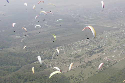 Paragliding In Tucuman