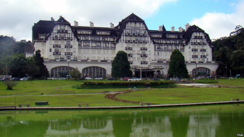 Petropolis, The Imperial City Of Brazil.