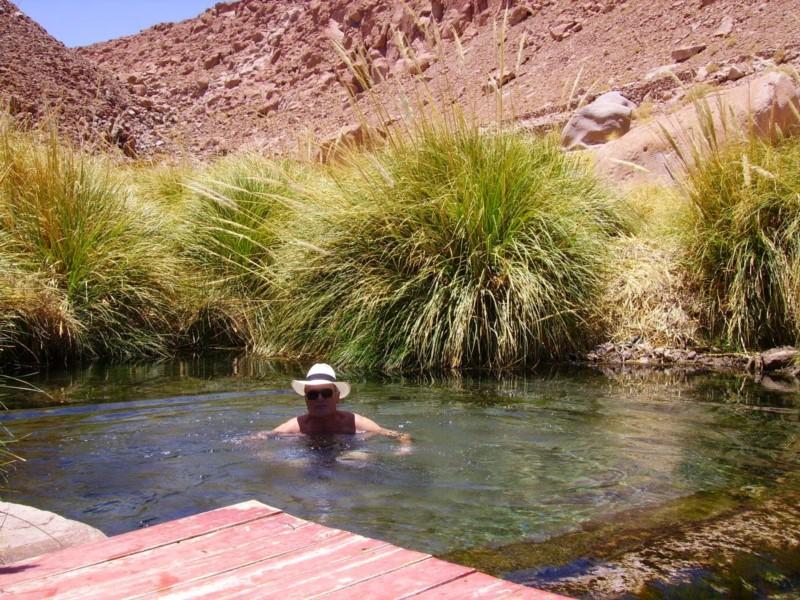 Puritama Hot Springs, Atacama, Chile