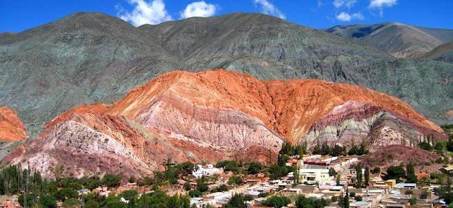 Purmamarca A Picturesque Village On Argentine Puna