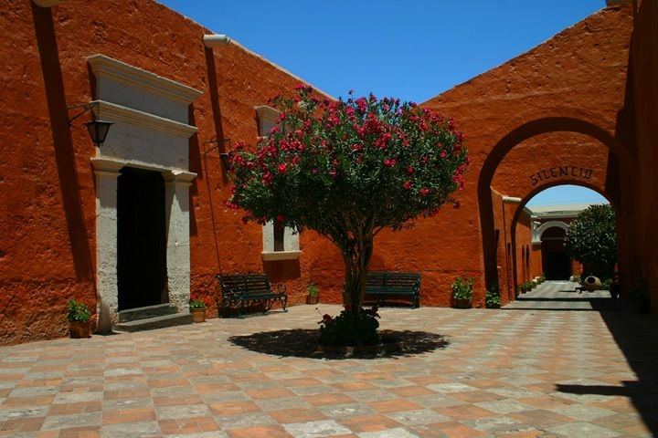 Saint Catherine's Monastery, Arequipa, Peru