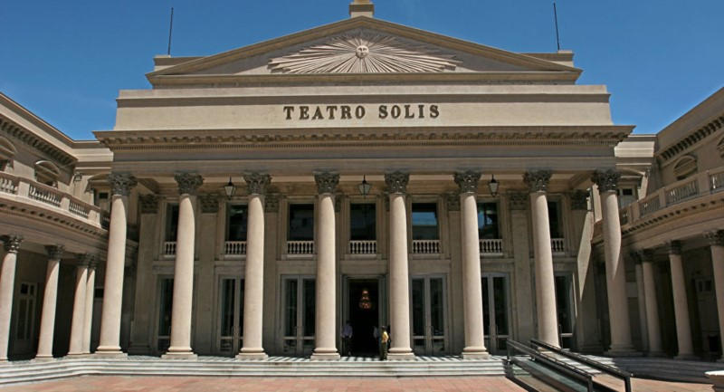 Teatro Solis Is A Beautiful Theatre In The Heart Of Montevideo, Uruguay