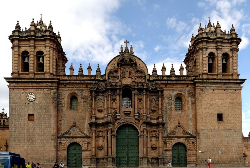 The Imposing Cathedral Of Cuzco To Reveal God To Incas