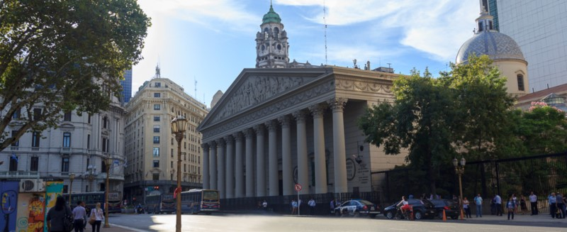 The Incredible Cathedral Of The City Of Buenos Aires