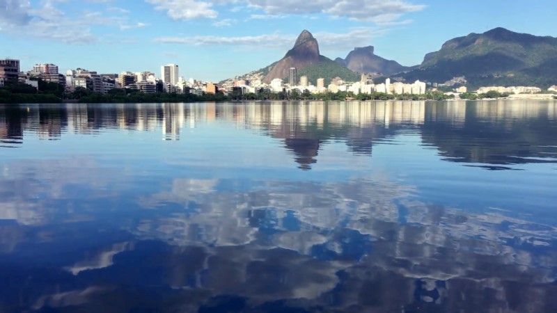 The Rodrigo De Freitas Lagoon Gives Different And Beautiful Perspectives Of Rio De Janeiro