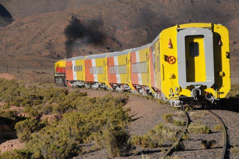 Trem Turistico Argentina Sobre Trilhos